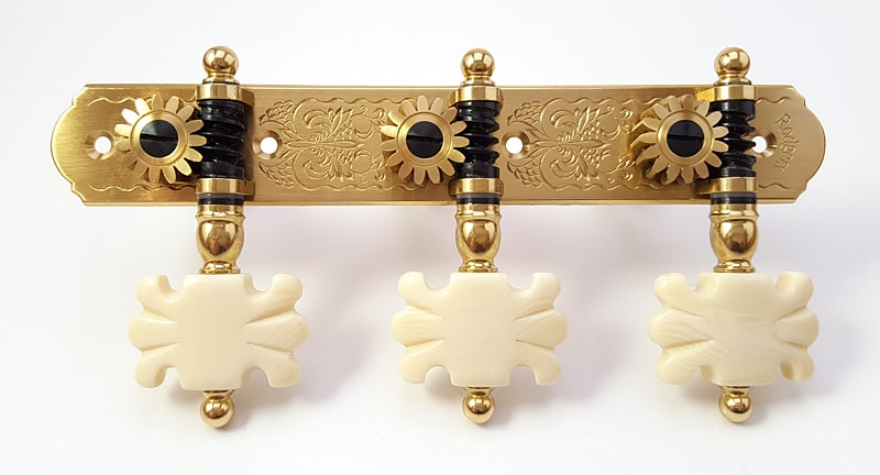 Rodgers L266 Br Ivory Butterfly
