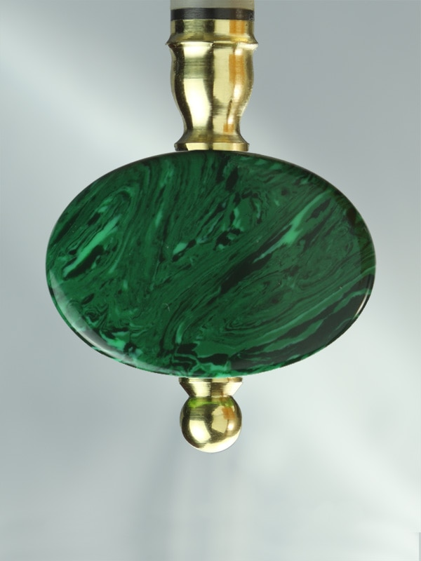 Oval Malachite