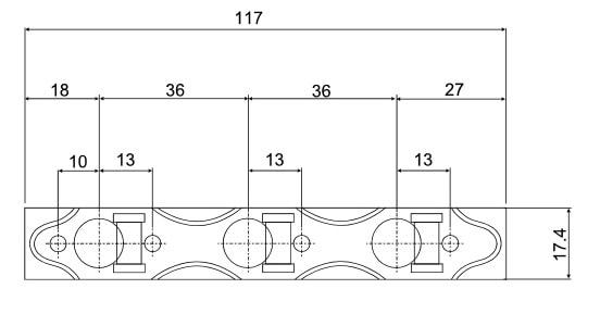 Hauser 36x117 Dimensions