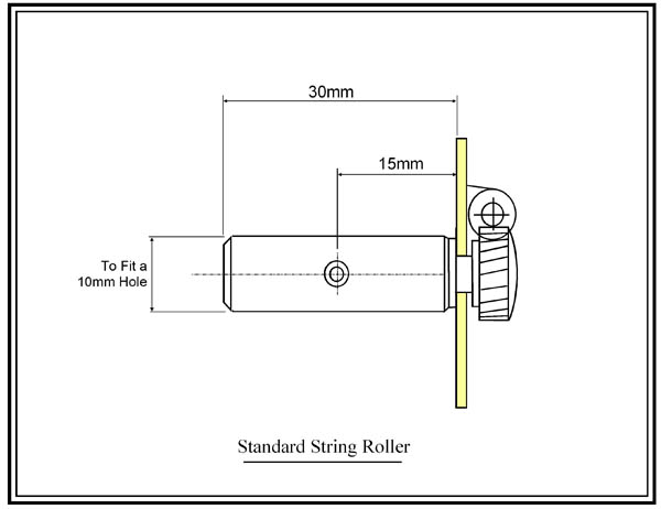 String Roller Drawing