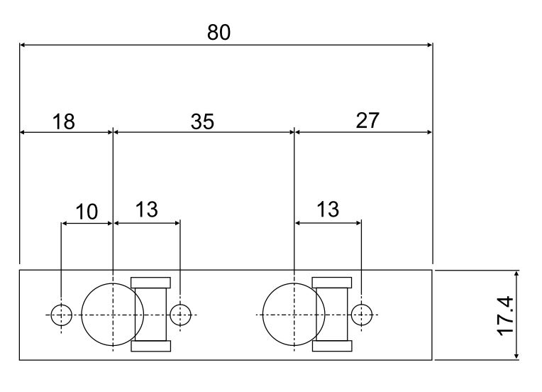 Ukulele 35x80 Dimensions