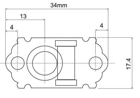 Dimension Drawing Hofner