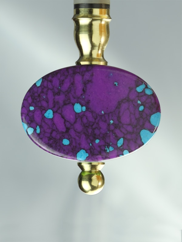 Oval Turquois